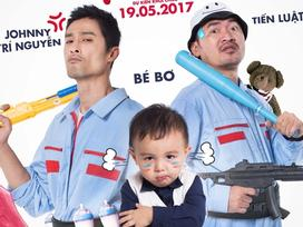 Chán làm diễn viên, Johnny Trí Nguyễn và Tiến Luật rủ nhau đi làm 'vú em'