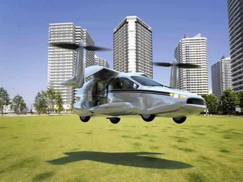 Ôtô bay cất cánh thẳng đứng như trực thăng