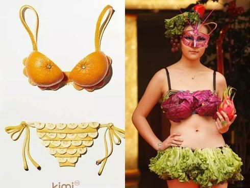 'Ngon mắt' với bộ sưu tập bikini rau củ quả hè 2017