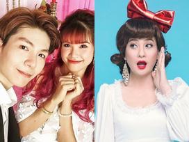 Cát Phượng 'rút hầu bao' 20 triệu mừng đám cưới Khởi My và Kelvin Khánh