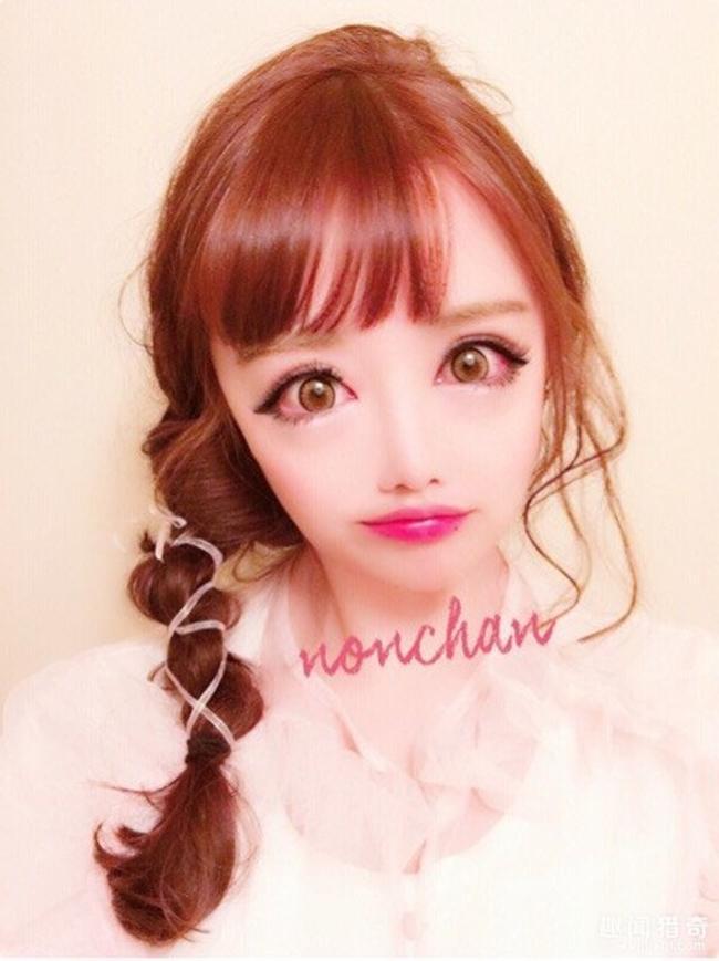 Cô gái được mệnh danh người đẹp anime Nhật Bản: Sự kết hợp kinh dị giữa công nghệ thẩm mỹ, hóa trang và photoshop - Ảnh 1.