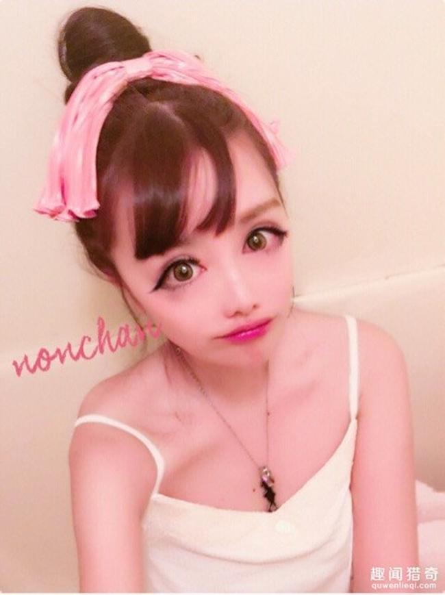 Cô gái được mệnh danh người đẹp anime Nhật Bản: Sự kết hợp kinh dị giữa công nghệ thẩm mỹ, hóa trang và photoshop - Ảnh 2.