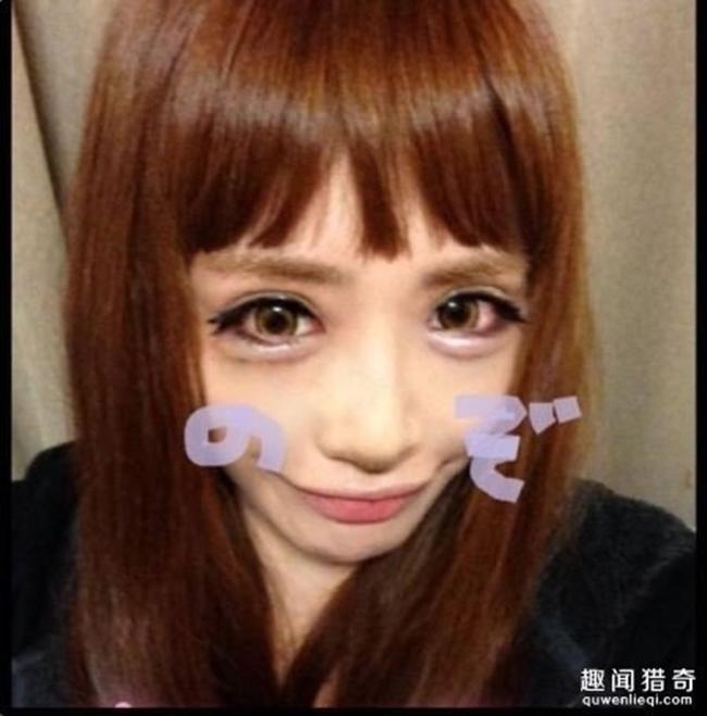 Cô gái được mệnh danh người đẹp anime Nhật Bản: Sự kết hợp kinh dị giữa công nghệ thẩm mỹ, hóa trang và photoshop - Ảnh 8.