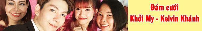 Lễ đính hôn của Khởi My và Kelvin Khánh