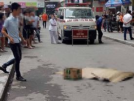 Cô gái trẻ rơi từ tầng cao chung cư HH Linh Đàm xuống đất tử vong