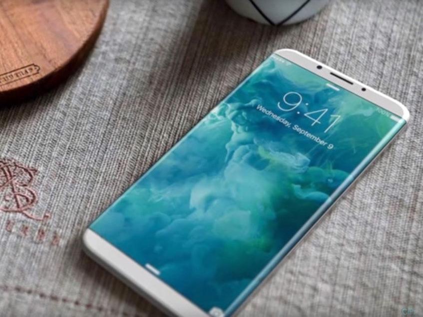 Bản dựng iPhone 8 với màn hình không viền