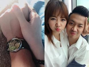 Hari Won nắm tay động viên Trấn Thành giữa bão scandal bị 'khóa cửa' lên sóng