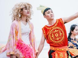 Teen Nghệ An chụp kỷ yếu theo phong cách Sơn Tinh - Thủy Tinh