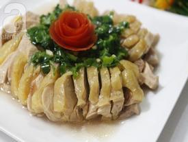 Quên món gà luộc đi, thử ngay gà hấp mỡ hành mới biết thịt gà có thể ngon đến cỡ nào