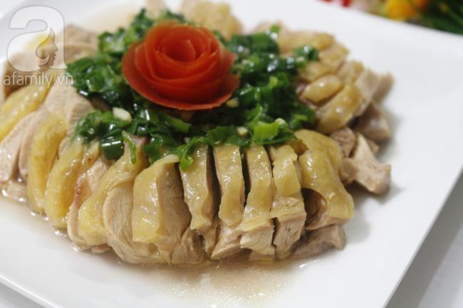 Quên món gà luộc đi, thử ngay gà hấp mỡ hành mới biết thịt gà có thể ngon đến cỡ nào - Ảnh 6.