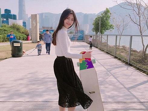 Trò chuyện với 'nữ thần trượt ván' xứ Hàn: 'Mình rất muốn đến Việt Nam ăn phở'