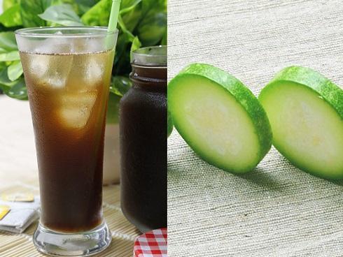 Tự nấu trà bí đao bảo vệ sức khỏe của cả nhà thôi các mẹ ơi!