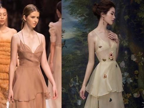 Vừa ra mắt, bộ sưu tập tại Vietnam International Fashion Week 2017 đã bị tố đạo nhái trắng trợn