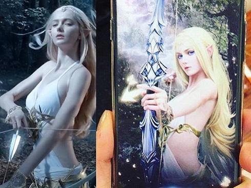 Savanna Blade – nữ thần game 3D bước ra ngoài đời thực