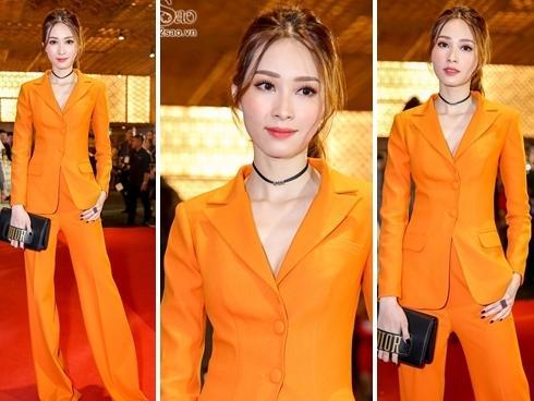 Hoa hậu Đặng Thu Thảo đơn giản mà chói lóa, đẹp lấn át dàn sao trên thảm đỏ