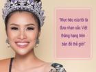 Nguyễn Thị Thành: 'Mục tiêu của tôi là đưa nhan sắc Việt thăng hạng'