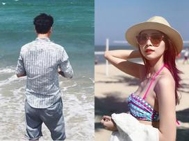 Facebook 24h: Hoa hậu Thu Thảo mặc bikini khoe dáng trên bãi biển Đà Nẵng