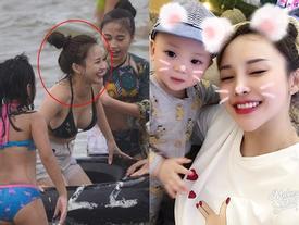 Bà mẹ 3 con quê Nam Định bỗng nổi như cồn chỉ vì bức ảnh chụp lén quá xinh đẹp