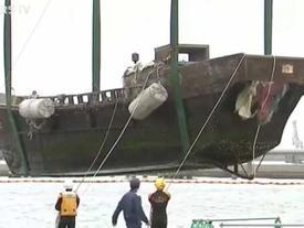 Nhật phát hiện nhiều 'tàu ma' chứa thi thể thối rữa