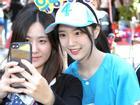 Con gái xinh đẹp của ứng viên tổng thống Hàn Quốc lại 'gây bão' mạng