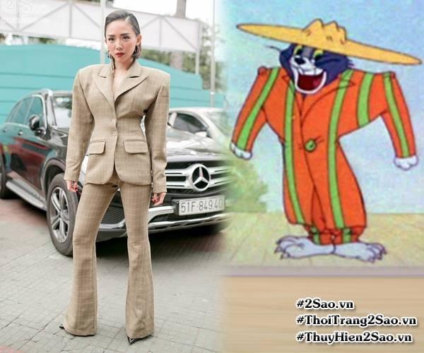 Những chiếc váy dị biệt làm nên tên tuổi mỹ nhân Việt-9