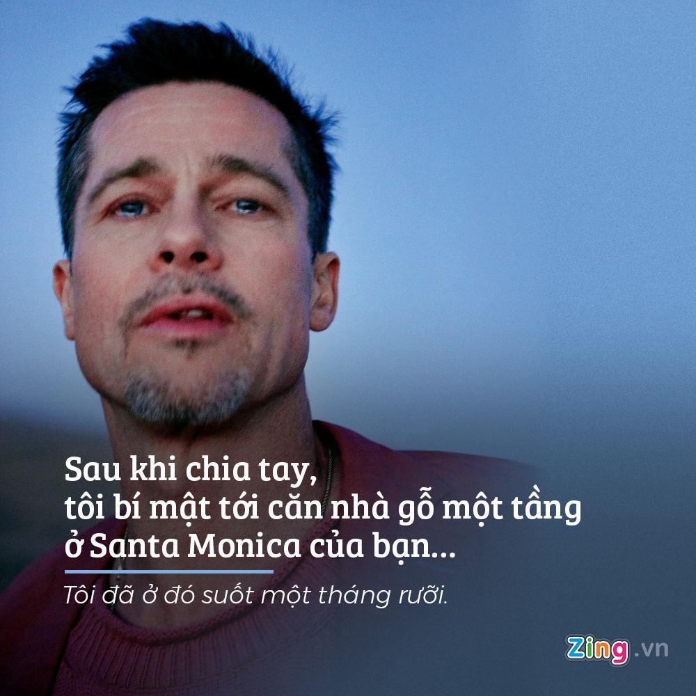 Chia se dau long cua Brad Pitt trong bai phong van dau tien hau ly hon hinh anh 6
