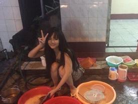 'Hot girl rửa bát' Việt bất ngờ được báo Hàn khen xinh, chăm chỉ