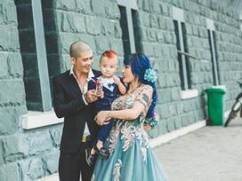 'Cặp đôi xăm trổ' tổ chức đám cưới lần 2 và bộ ảnh đúng chuẩn chất - ngầu - bụi phủi