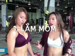 8 kiểu con gái thường gặp trong phòng tập gym