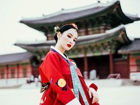 5 ngày dạo phố mỏi chân của Angela Phương Trinh ở Seoul