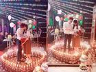 Bất ngờ trước giọng hát của chàng trai đốt hàng trăm cây nến cầu hôn bạn gái kém 10 tuổi