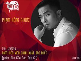 Phạm Hồng Phước giành giải nam diễn viên chính xuất sắc tại LHP Châu Á