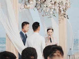 Hằng Túi hạnh phúc trở thành 'vợ người ta' trong đám cưới bạc tỷ lãng mạn bên biển!