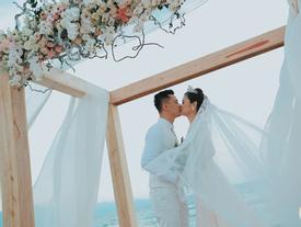 Những khoảnh khắc đẹp lung linh trong 'đám cưới bạc tỉ' lần 2 của Hằng Túi
