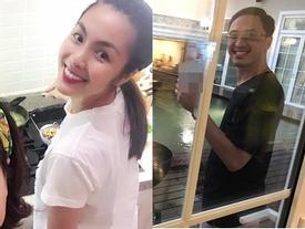 Vợ chồng Tăng Thanh Hà 'trốn con' hẹn hò cuối tuần cùng bạn bè