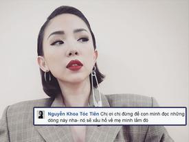 Tóc Tiên không ngại thể hiện sự ghê gớm khi bị anti-fan chỉ trích ăn mặc phản cảm