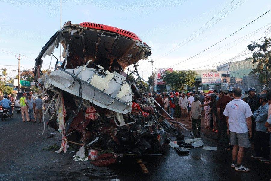 Gia Lai, tai nạn giao thông, tai nạn ô tô, giao thông,Top 10 tai nạn kinh hoàng