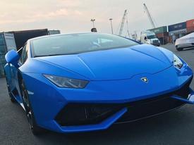 Thêm một siêu xe Lamborghini Huracan cập bến Việt Nam