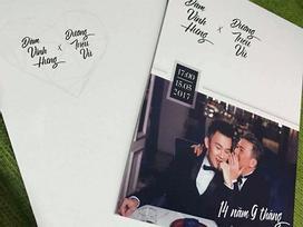 Gửi thiệp mời đặc biệt, Đàm Vĩnh Hưng và Dương Triệu Vũ bị đặt nghi vấn tổ chức đám cưới