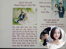 Thiệp cưới 'lệnh truy nã' bá đạo của cặp đôi Tuyên Quang