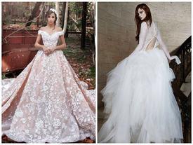 Những chiếc váy cưới phong cách công chúa đẹp nhất năm 2017