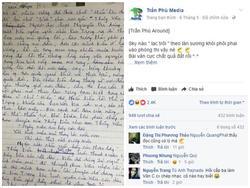 Bài văn bá đạo dùng lời ca khúc 'Lạc trôi' để phân tích truyện Kiều