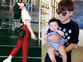 Đời sống hot teen 24h: Hot girl Ngọc Thảo tạo dáng 'bá đạo', Phở hào hứng chụp ảnh cùng em bé