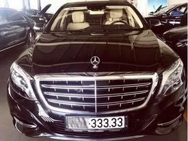 """Mercedes-Maybach S600 biển """"ngũ quý"""" 3 rao bán 9,5 tỷ Đồng"""