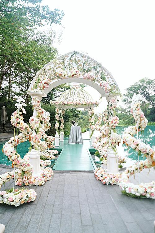 Chen Herng và Wei Wei đều rất háo hức khi nói về cuộc sống hôn nhân. Kết hôn với người bạn yêu và yêu người mà bạn kết hôn, đó là bí quyết mà chú rể Chen chia sẻ.
