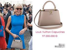 Giàu có là thế, vợ Tổng thống Pháp vẫn chỉ dùng một mẫu túi xách suốt bao năm qua