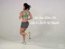 Sửng sốt: Giảm cân gọn dáng hiệu quả gấp 6 lần đi bộ nhờ chạy lùi