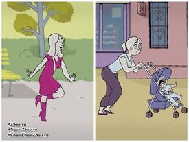 Cuộc đời một người phụ nữ đã trải qua những ngày như thế đấy!