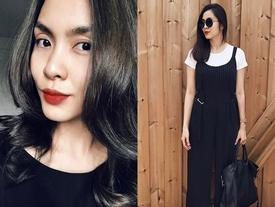 Facebook 24h: Tăng Thanh Hà khoe thành quả sang sửa 'góc con người'