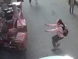 Nữ sinh lớp 6 được khen ngợi nhờ cố gắng đỡ bé 2 tuổi rơi từ cửa sổ
